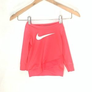 Nike Dri fit sweatshirt top 12 months